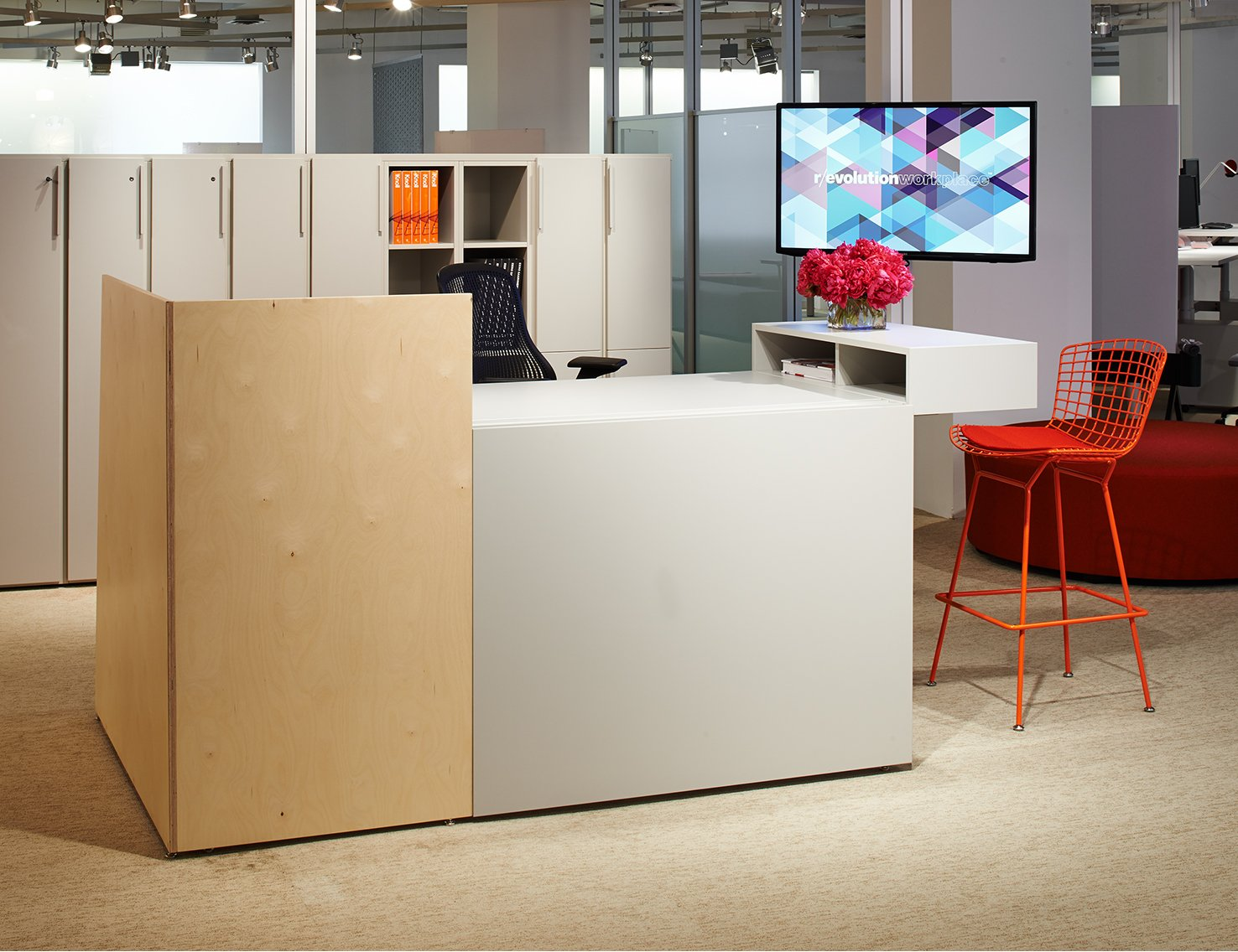 Knoll Antenna Workspaces Reception Desk