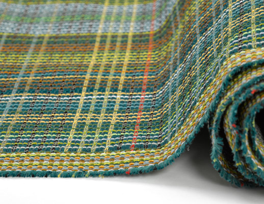 intertwine collection july 2018 dorothy cosonas knolltextiles plaidtastic upholstery plaid pattern textiles fabric large scale piton stool bleach cleanable incase finish stain resistant recycled polyester 100000 double rubs