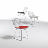 Harry Bertoia Side Chair Outdoor Patio Furniture Side Seating