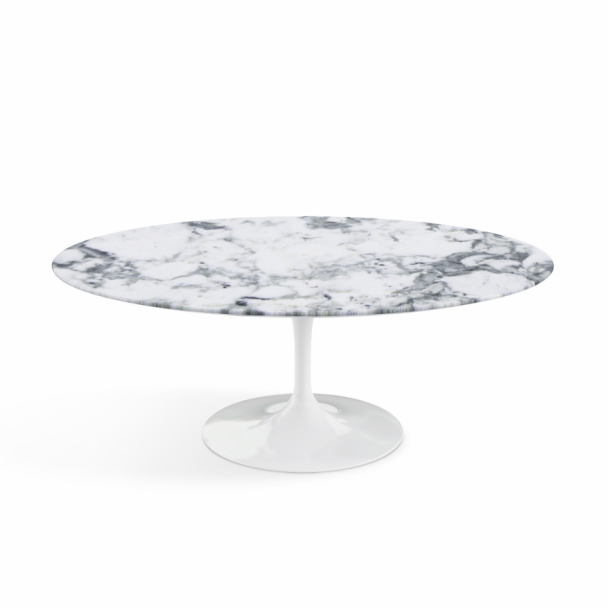 "Saarinen Coffee Table - 42"" Oval"