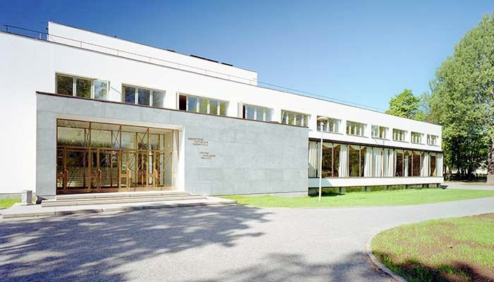 Viipuri Library with Central City Alvar Aalto Library, Vyborg, Russia, 2014