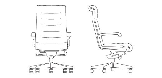 Knoll Furniture - Sapper Executive Office Chair - BOSS in Trinidad ...