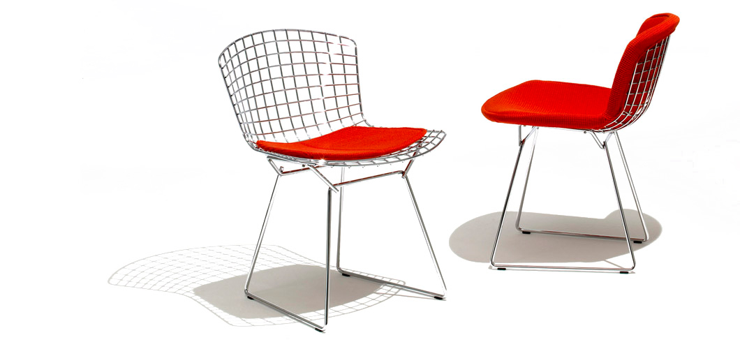 Knoll Bertoia Side Chair By Harry Bertoia