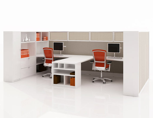 Knoll Template Storage System