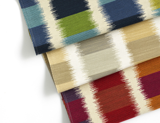 KnollTextiles Ikat Square upholstery by Dorothy Cosonas