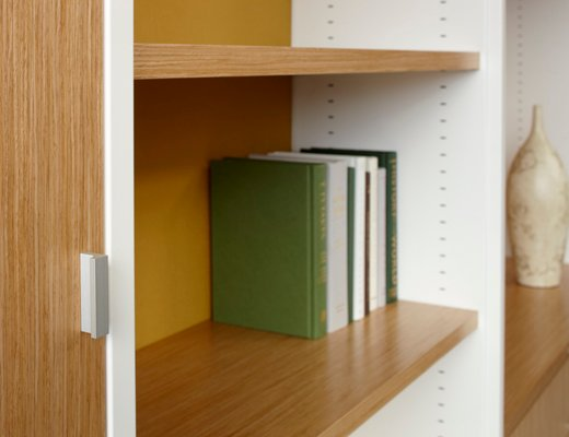 Template Storage System, Shelf Detail