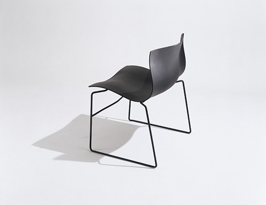 Vignelli black Handkerchief Chair