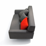 Cini Boeri Sofa in KnollTextiles Cobble upholstery