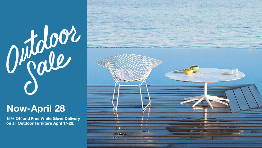 Knoll Outdoor Sale 2015 April 17-28