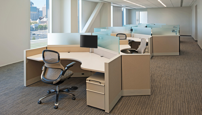 Dividends Horizon® with Series 2® Pedestals and Generation by Knoll® Task Chairs