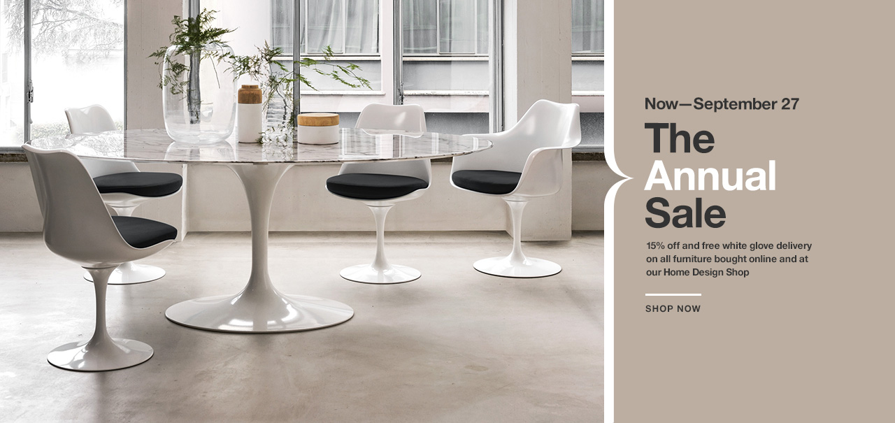 The Knoll Annual Sale. 9/16—9/27