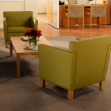 Krefeld Lounge chairs reception area installation