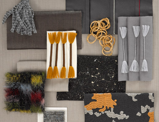 KnollTextiles Knoll Luxe Dorothy Cosonas Upholstery Drapery Prince Hairy All Star Swank World Piece Petite Fringe Two Fold Metallic Gloss Lowell Lilac Residential HospitalityWool Linen Cotton Polyamid Alpaca Healthier Hospitals Initiative
