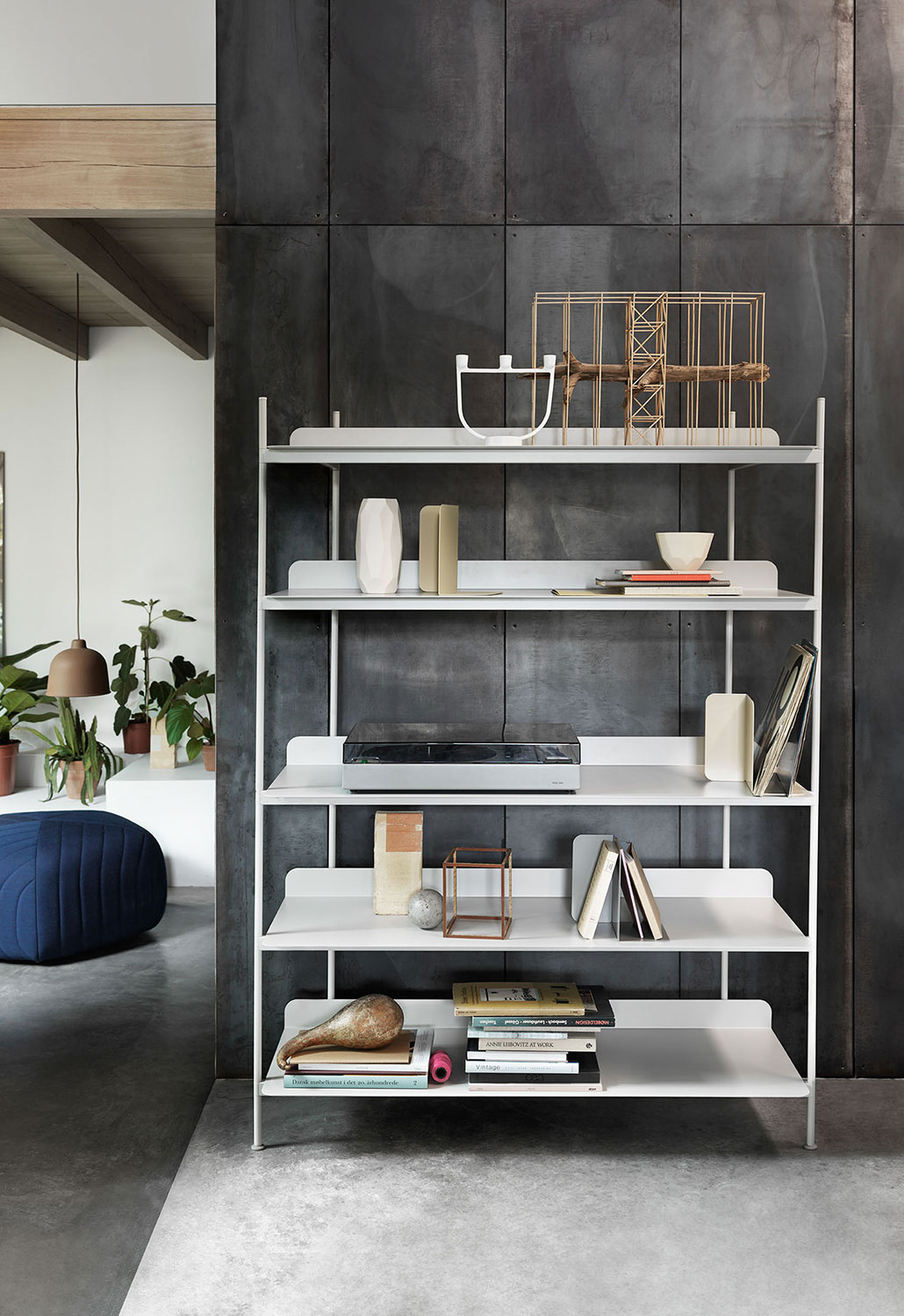 muuto Compile Shelving System_Five Pouf