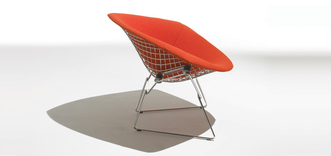 Knoll Bertoia Large Diamond Chair by Harry Bertoia