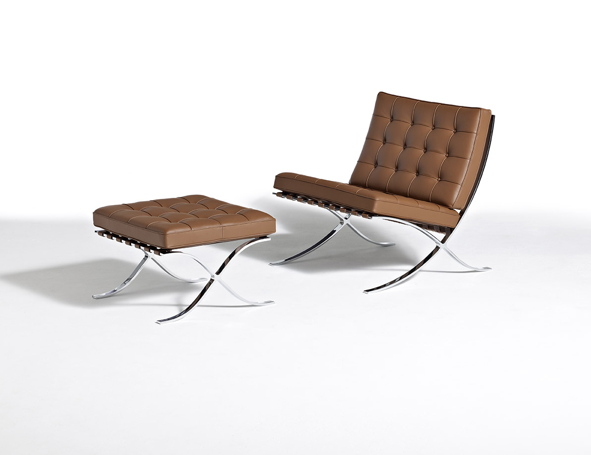 Mies Barcelona Collection Mies van der Rohe Barcelona Chair Barcelona Stool