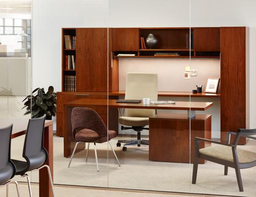 Reff Profiles Private Office Remix High Back Saarinen Executive Armless Krusin Lounge Veneer Wood Gigi Stool