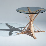 Knoll Frank Gehry Bentwood Face Off Table