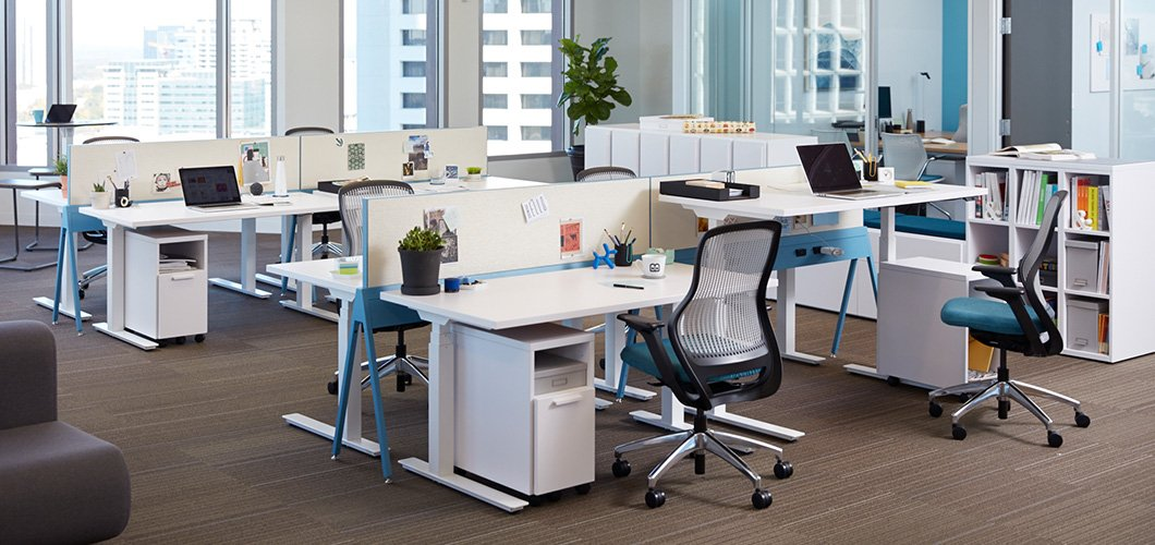 k. stand Height-Adjustable Tables Knoll
