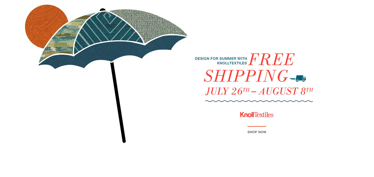 Free Shipping on KnollTextiles Orders. Shop Now