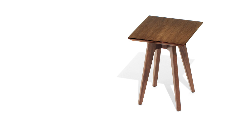 Knoll Risom Side Table Square by Jens Risom