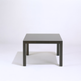 Mies van der Rohe Krefeld Side Table in wenge stained oak finish