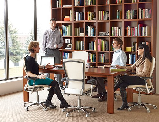 Knoll Reff Profiles Team Meeting Space