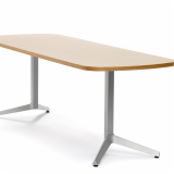 Freestanding table with Y Legs