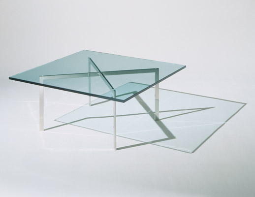 Exceptionnel ... Knoll Mies Van Der Rohe Barcelona Table ...
