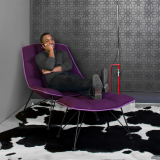 Activity Space Refuge Space Jehs+Laub Lounge Chair and Ottoman getaway space