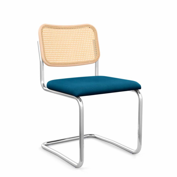Cesca<sup>™</sup> Chair - Armless with Upholstered Seat & Cane Back