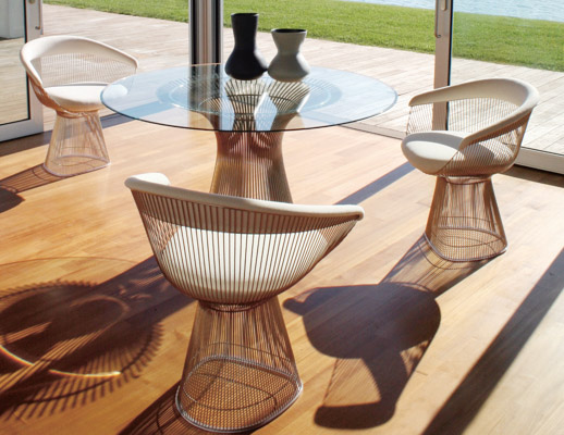 Superb Warren Platner Collection; Knoll Warren Platner Dining Collection; Platner  Dining Tables ...
