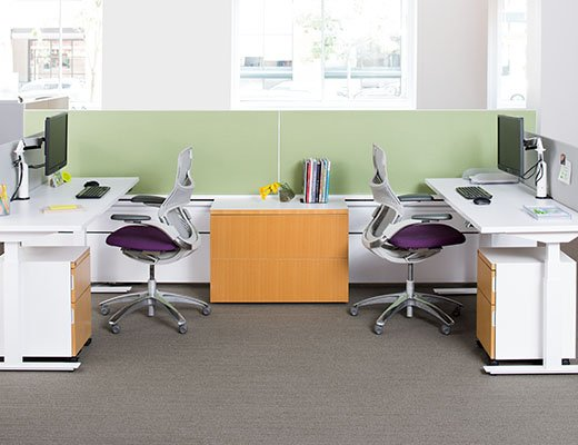 Knoll Tone Standing Height Tables