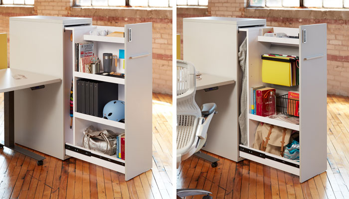 Slide Out Towers Are An Efficient Way To Define Workstations And Provide Configurable Personal Storage The Dimensions Correspond Dividends Horizon Panel