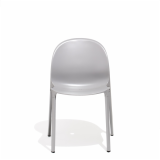 Grey Olivares Aluminum Chair Front