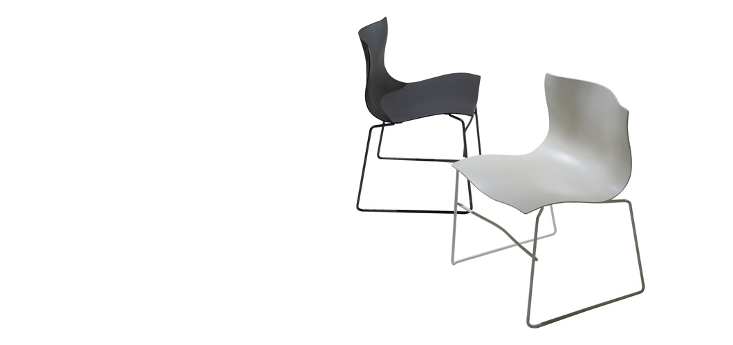 Knoll Vignelli Handkerchief Chair by Massimo and Lella Vignelli