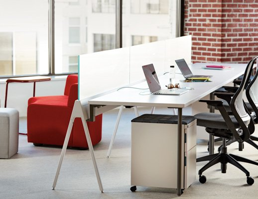 open plan workspace power electric solutions