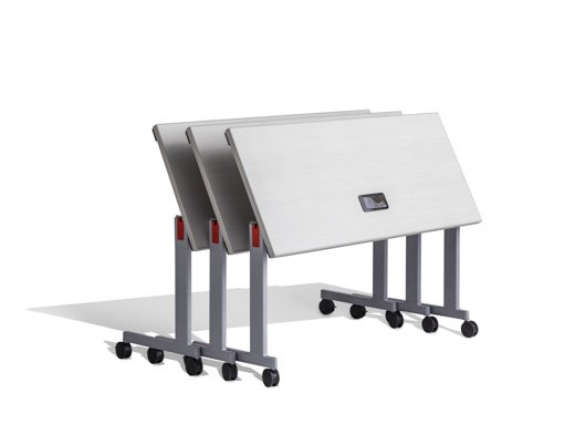 stacking base C leg training table ganging