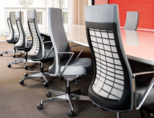 Remix Upholstered High Back Task Chair from Knoll