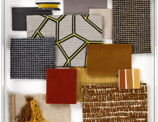 The Bonjour Collection - Golden Mood Board