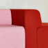 KnollTextiles The Legacy Collection Uni-Form Polyester Post Consumer Recycled Polyester Red Pink Made in the USA  July 2017