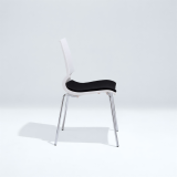 Gigi Armless Chair with Seat Pad
