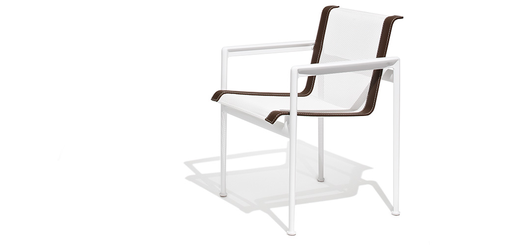 Knoll 66 Collection Dining Arm Chair by Richard Schultz