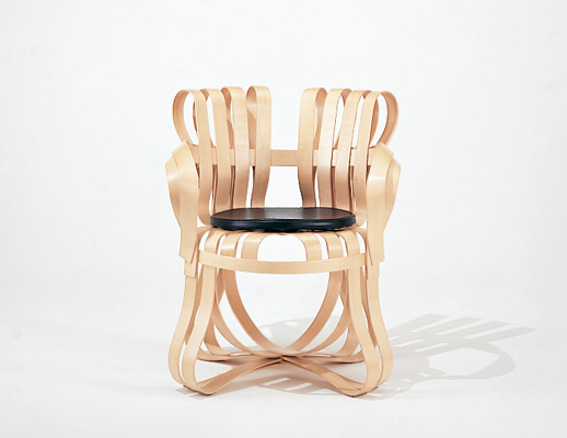 Knoll Frank Gehry Bentwood Cross Check Chair ...