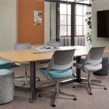 knoll design days 2019 islands collection ollo rockwell unscripted upholstered seat meeting room conference room