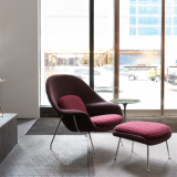 New York Home Design Shop with Saarinen Womb Chair and Ottoman