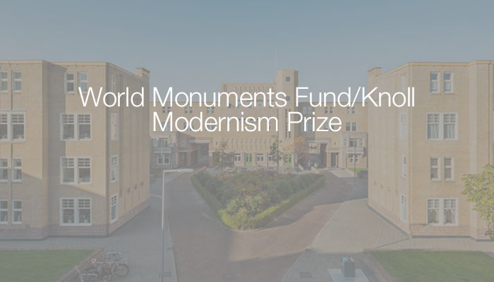 Knoll World Monuments Fund Nominations 2018