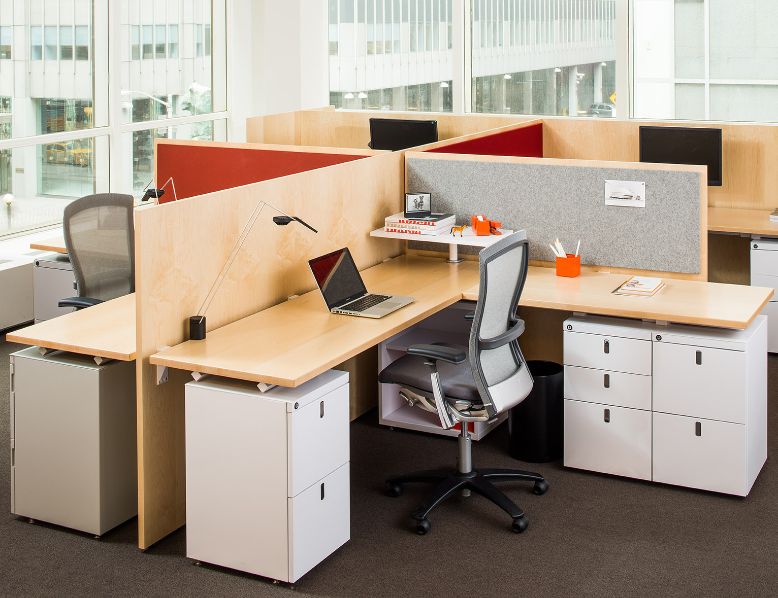 Antenna Workspaces Open Plan Life Chair Storage