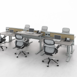 Tone Adjustable Height Table workstations Generation by Knoll Antenna Workspaces Antenna Design Fence Open Foot veneer