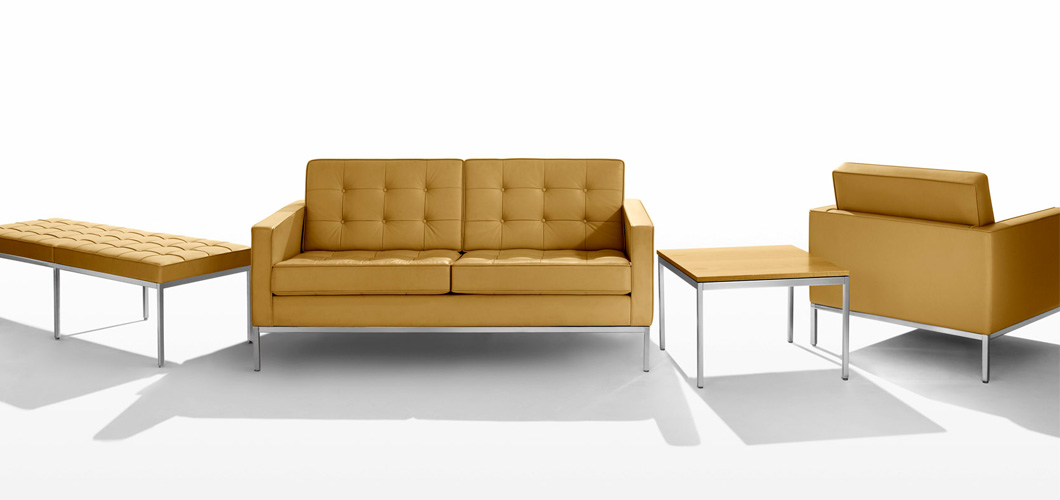 Knoll Florence Lounge Chair By Fkb Settee
